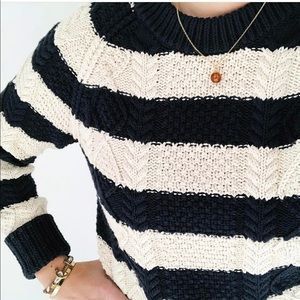 LL Bean Signature Fisherman's Sweater